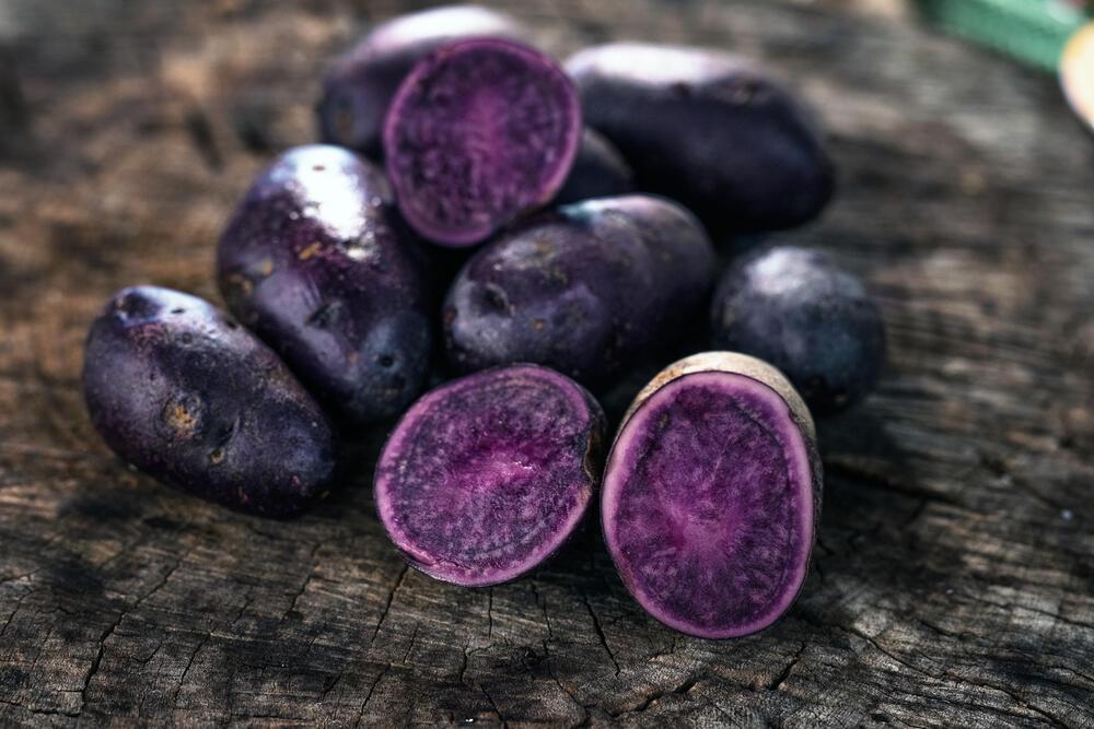 Πατάτες Περού (Μωβ πατάτα)