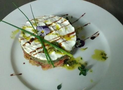 cheesecake-μελιτζάνας