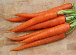 τα καρότα προς τιμή του βασιλιά
