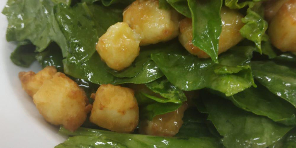 σαλάτα σπανάκι