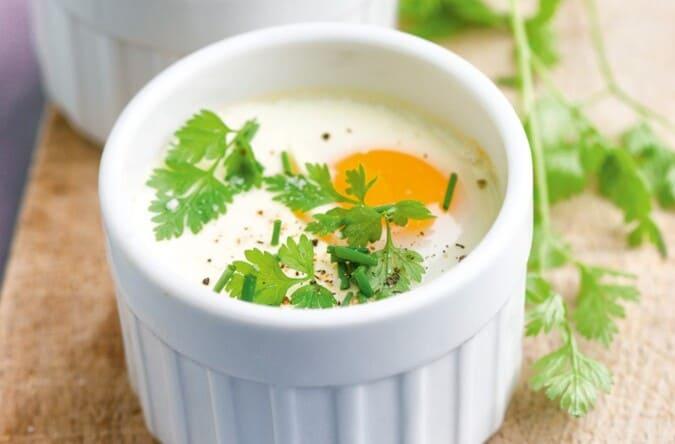 Αυγά αν κοκότ (en cocotte)