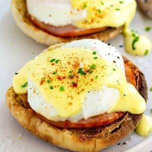 Αυγά μπένεντικτ (benedict)