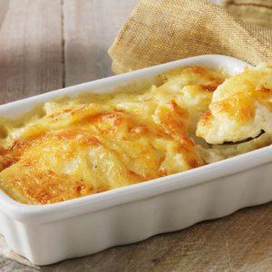 Πατάτες Ντοφινουάζ (dauphinoise)