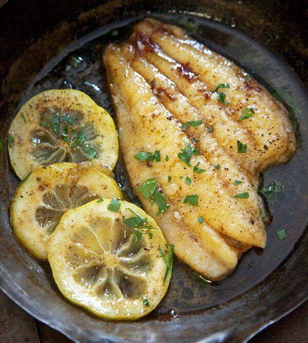 Η γλώσσα menier τηγανίζετε με την μέθοδο gentle frying