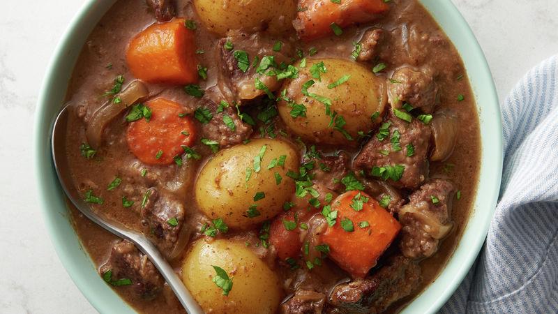 Παραδοσιακό Irish beef stew