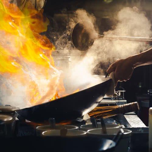 Τεχνική Chao Stir frying