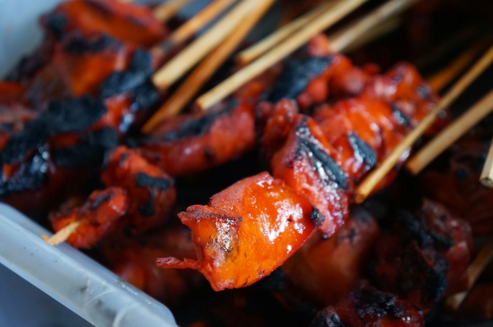 Satti pork στις Φιλιππίνες