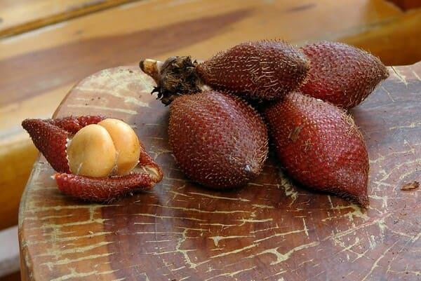 Salak fruit ή αλλιώς snake fruit