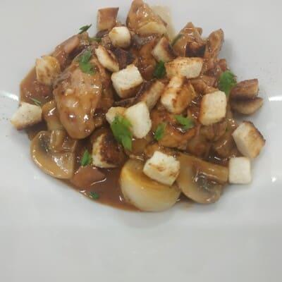 Κοτόπουλο μπουργκινιόν